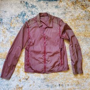 Prada Nylon Windbreaker jacket w removable sleeves